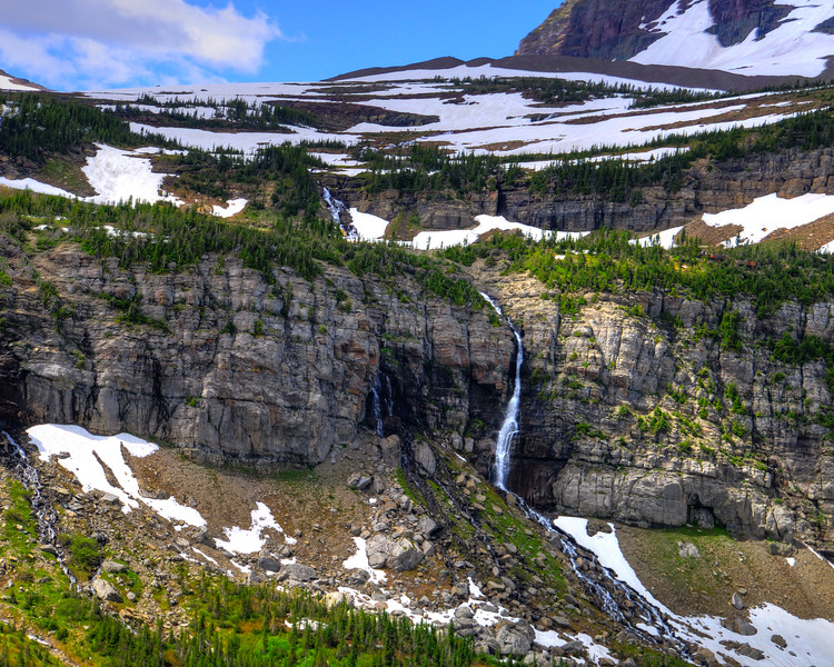 Going to the sun road and Logan Pass - Glacier National Park (19 of 44)