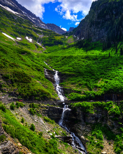 Going to the sun road and Logan Pass - Glacier National Park (11 of 44)