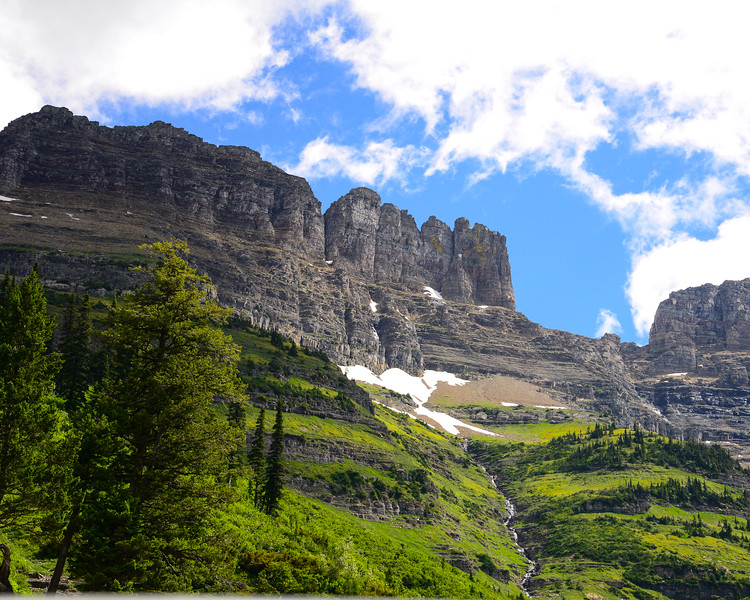 Going to the sun road and Logan Pass - Glacier National Park (10 of 44)