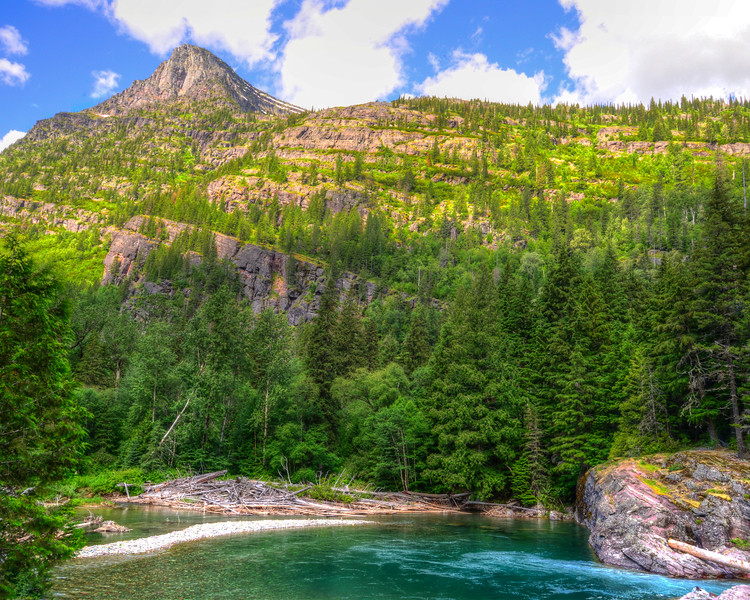 Going to the sun road and Logan Pass - Glacier National Park (4 of 44)