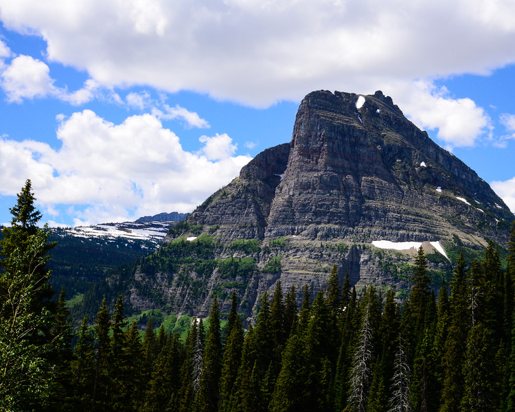Going to the sun road and Logan Pass - Glacier National Park (22 of 44)