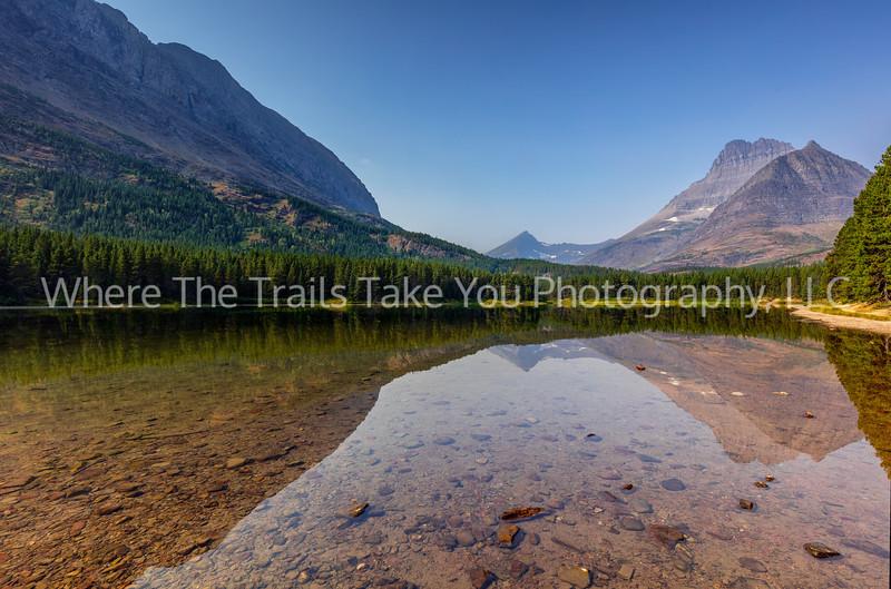 116.  Fishercap Lake Reflections