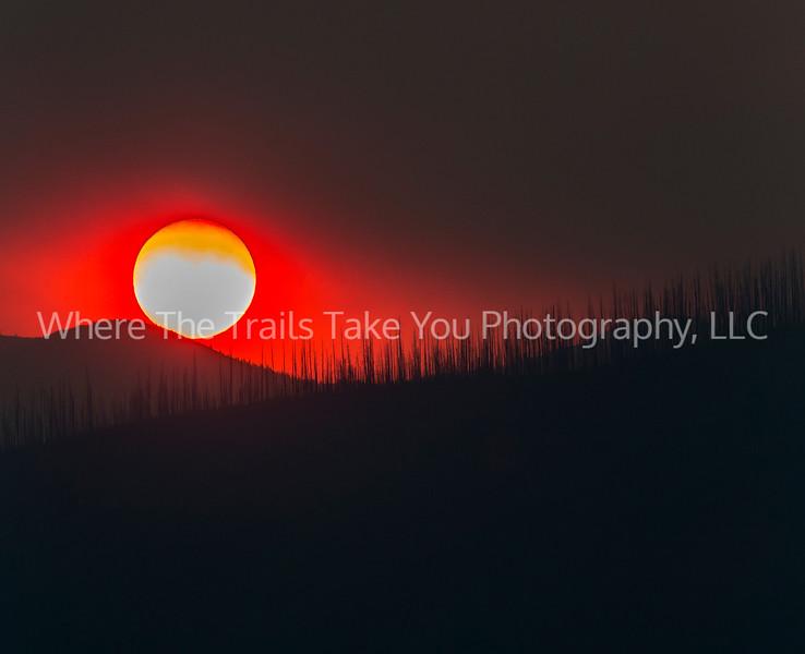 Telephoto Sunset