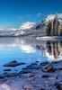 69.  Lake McDonald In The Winter