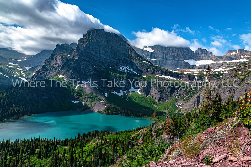 130. The View Along Grinnell Glacier Trail