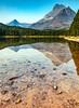 115.  Fishercap Lake Reflections