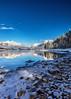 Winter On Lake McDonald