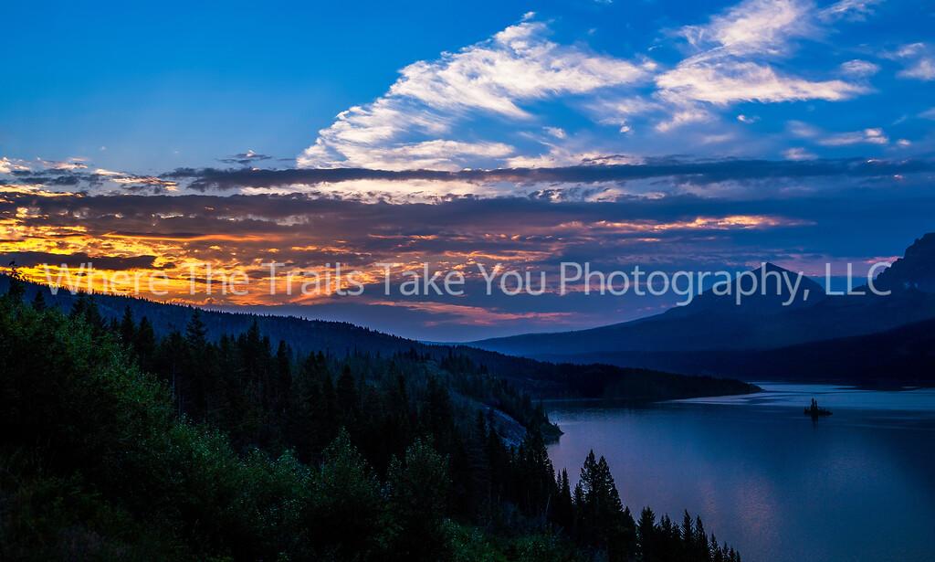 73  Sunrise over St. Mary Lake, Glacier National Park, Montana