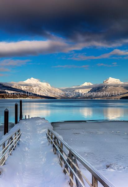 Lake McDonald - Vert