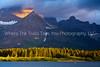 22.  Sunrise at Swiftcurrent Lake
