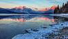 65.  Glacier Alpenglow