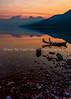 138. A Smoky Sunrise Over Lake McDonald