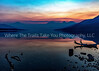 109.  A Forest Fire Sunrise Over Lake McDonald