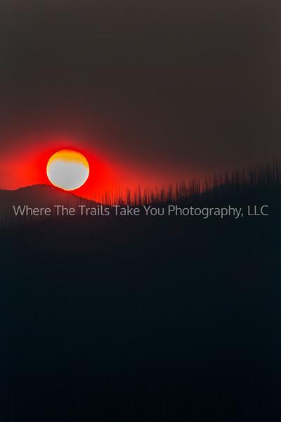 81.  A Smoky Telephoto Sunset