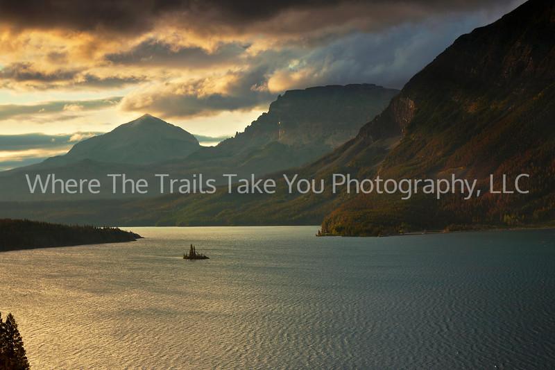 27  Sunrise On St. Mary Lake, Glacier National Park, Montana