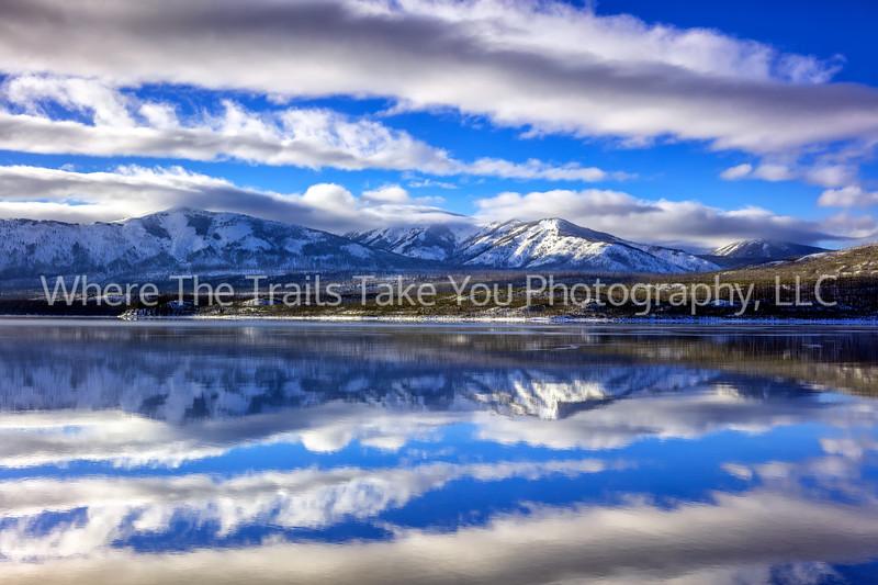 59.  Lake McDonald Afternoon Reflections