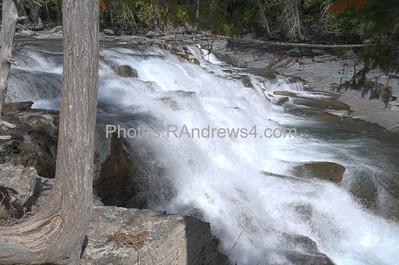 McDonald Creek Upper Falls