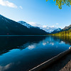 Panorama from Lake Mcdonald lodge.  Please select panorama sizes if purchasing this image.