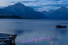 Dusk at Lake McDonald, Glacier National Park