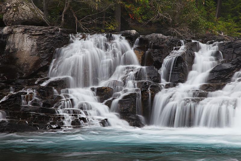 McDonald Creek Cascades