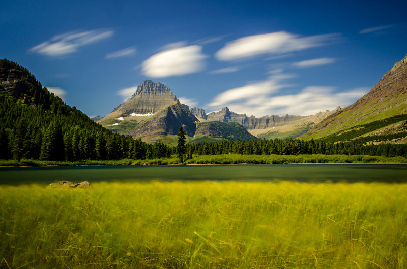 Swiftcurrent Lake at Grinnell Point, Glacier National Park