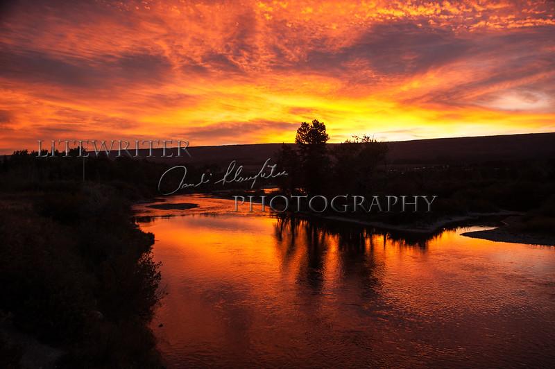 Sunrise St. Mary River