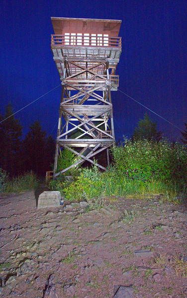 Deer Ridge Fire Tower in  Idaho