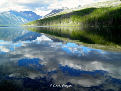 Kintla Lake - Glacier National Park, Montana