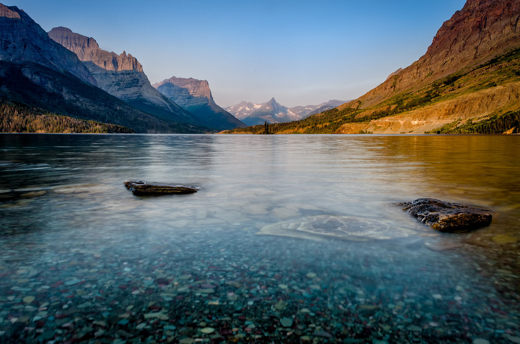 Glacier National Park - Dawn Breaks at St. Mary's Lake