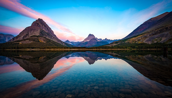 Many Glacier Sunrise