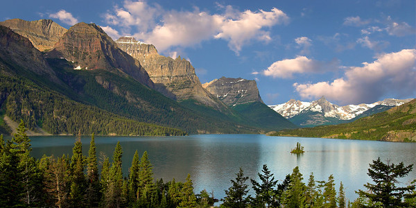St. Marys Lake Glacier National Park. Photo by Mike Reid.