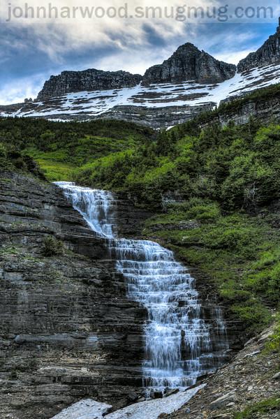 Falls near the Weeping Wall