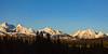 Golden Hour on the western edge of Glacier National Park VI