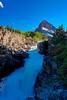 swiftcurrent falls glacier national park