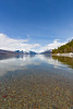 Spring on Lake Mc Donald in Glacier National Park I