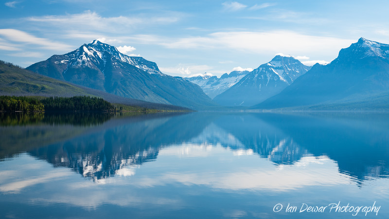 Misty Calm over Lake McDonald