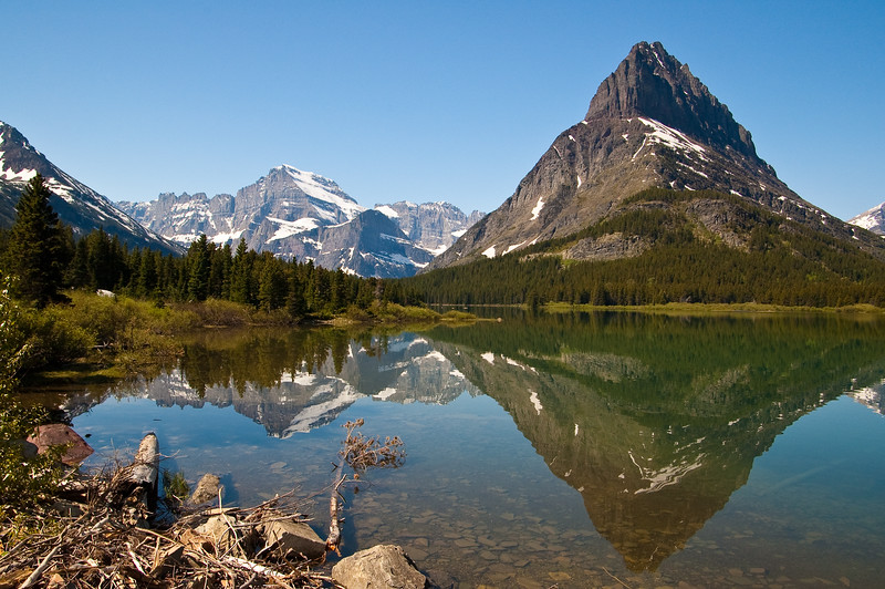 Grinnel Lake to the Northwest-1660