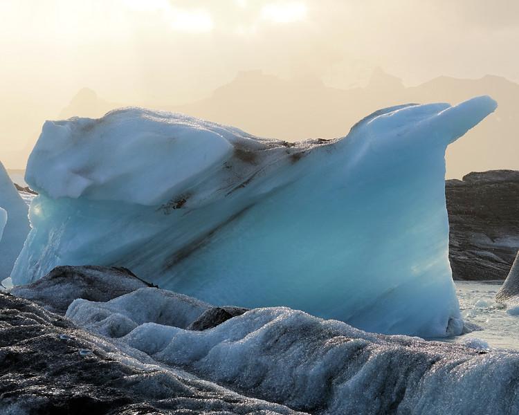 Jokulsarlon Glacier Lagoon - Love the blue