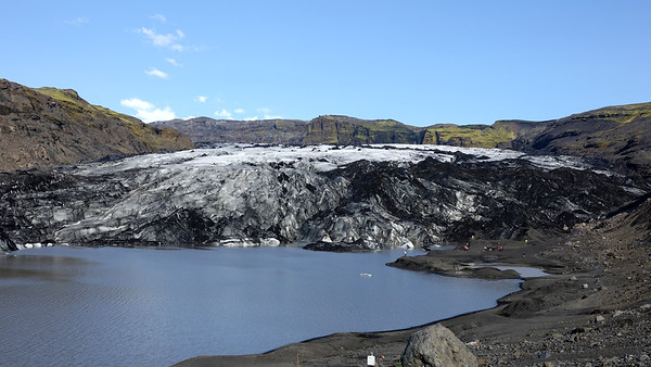 Solheimajokull Glacier - Walking around