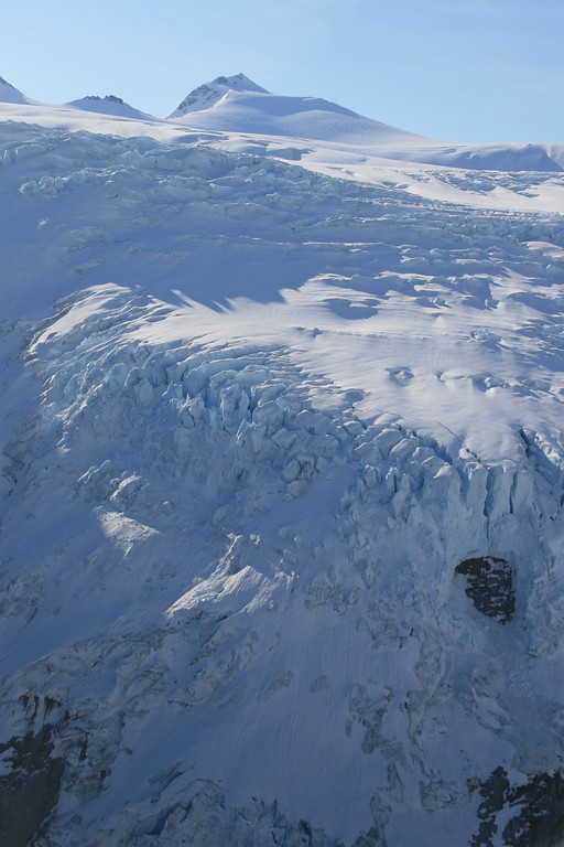 Ice fall from Juneau Ice Field, Alaska