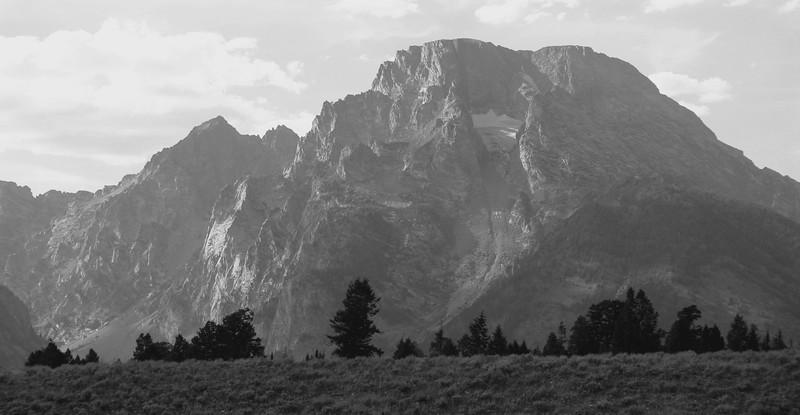 Skillet Glacier, Mt. Moran, Teton National Park.