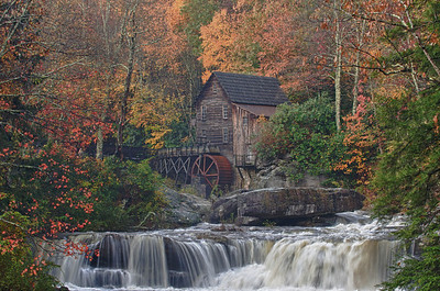 Glade Creek Grist Mill - Babcock State Park