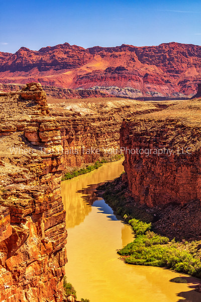 5.  A Telephoto Landscape Of The Colorado River