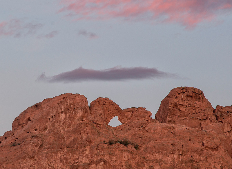 "Garden of the Gods, ""Kissing Camels"""