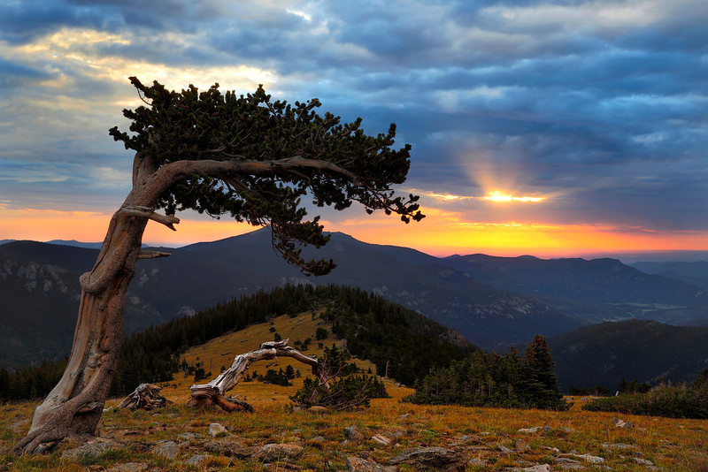 Sunrise Mt. Evans