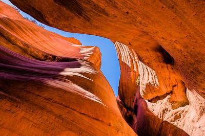 Peek-a-Boo Slot Canyons, Kanab, Utah