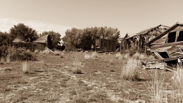 Abandoned Gunsmoke TV Set