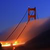 Golden Gate Bridge #1 Evening Fog