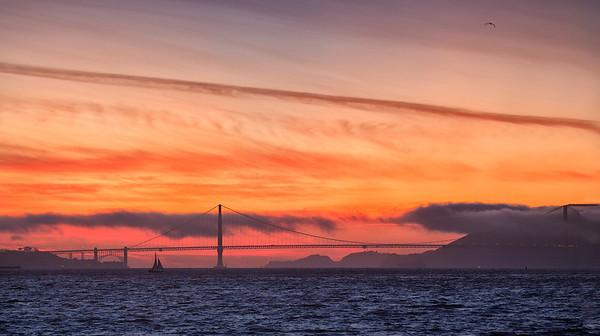 Golden Gate Sunset 3/14