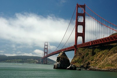 Golden Gate and Sausalito